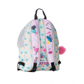 New Tiny Treasures Backpack Combo Flamingo Girl
