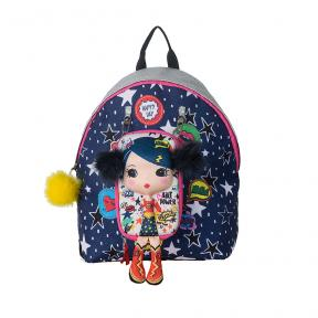 New Tiny Treasures Backpack Combo Pop Hero Girl
