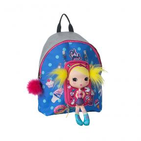 New Tiny Treasures Backpack Combo Sticker Patch Girl