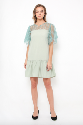 Meghan Dress in mint