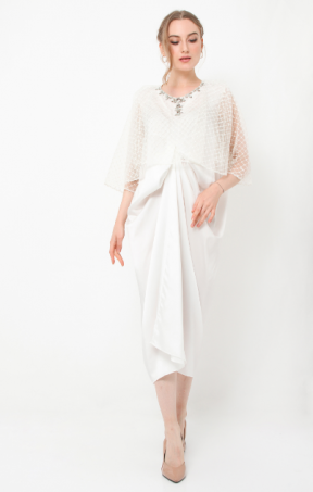 Giza Kaftan off white