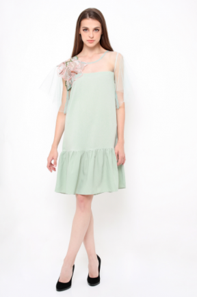 Tabitha Dress in mint