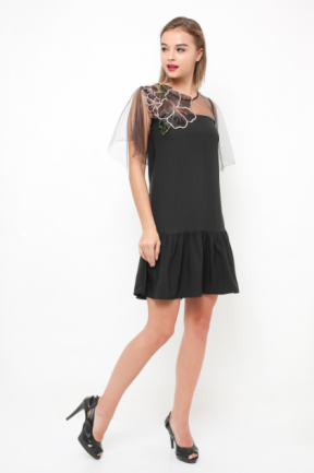 Tabitha Dress in black