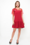 Tabitha Dress in red