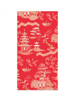 Oriental Garden Red (Money Envelope Set of 12)