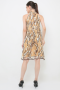Brown Prosperity Qipao (mountain pattern)