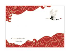 'Lunar Cranes' (Note Cards Set of 6)