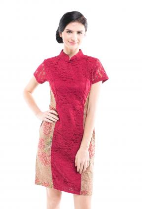 CA.29005 Kalina Encim Lace Dress -M