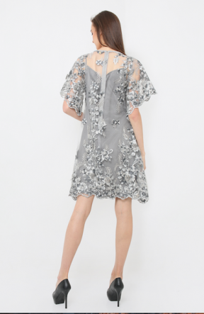 Adriana Dress in grey 01