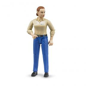 Bruder - 60408 Woman with light skin tone and blue trousers