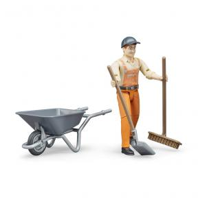 Bruder 62130 Municipal worker figure set