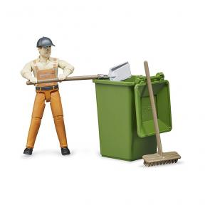 Bruder 62140 Waste disposal figure set