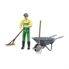 Bruder 62610 Figure set farmer with accessories