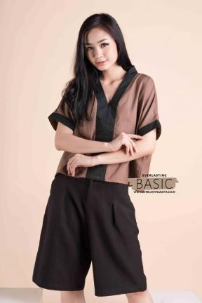 BC.10 ANNETE BASIC TOP - FREESIZE