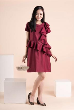 BC.13 JELITA BASIC DRESS - 3SIZE