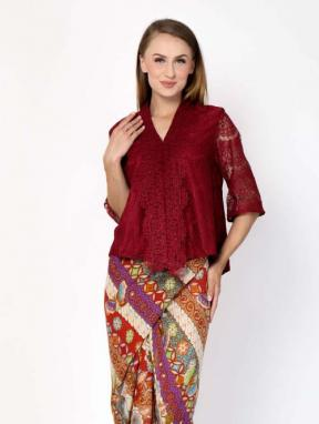CA.19032 KARTIKA LACE TOP - Medium Sleeve - PO3days