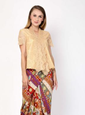 CA.19029 KARTIKA LACE TOP - short Sleeve -  PO3days