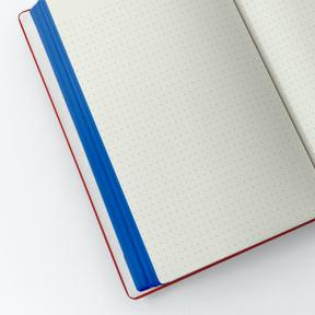 A5 Scarlet (Dotted Notebook)