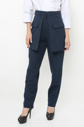 Alexa Pants in Navy