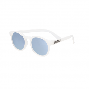 Babiators The Jet Setter Transparent with Blue Mirror Keyhole Junior Ages 0-2 Sunglasses