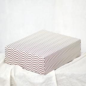 Golden Chevron Large Box