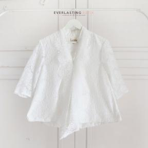 WHITE KARTIKA LACE TOP