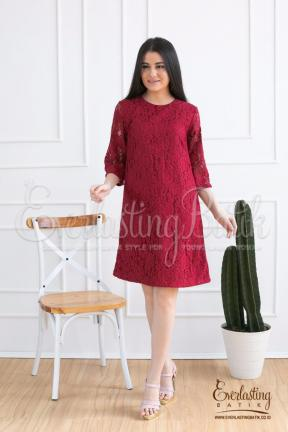 CA.2030 NATALIA LACE DRESS