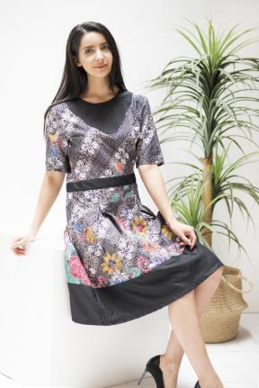 CA.2125 REVANDA BATIK DRESS -M