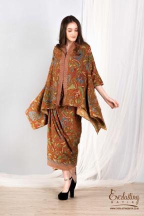 CA.1129 MAHARANI LOOSE TOP & 1130  KENDEDES SKIRT