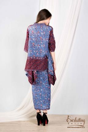 CA.1141 MAHARANI LOOSE TOP & KEMALA SKIRT