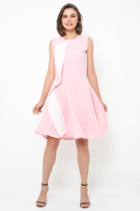 Callia Dress in pink
