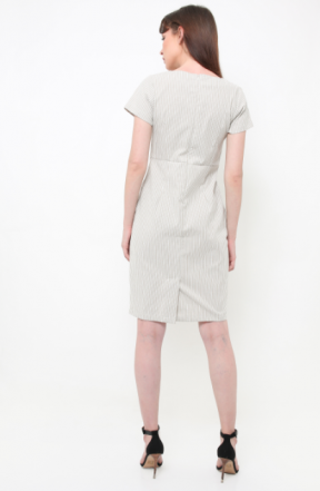 Coco Dress in mocca