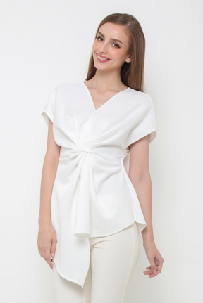 Lindy Top in white color