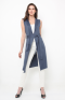 Farah vest in blue