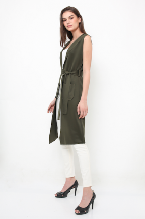 Farah vest in army