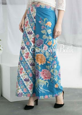 CA.3170 BLUE CORRY CULOTTE - FREESIZE