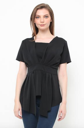 Florence Top in black