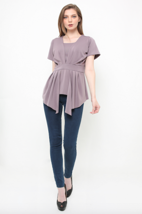 Florence Top in lilac