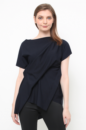 Blaire Top in navy