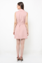 Yoona vest dress in nude pink