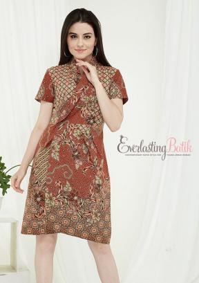 CA.2195 GRACE BATIK DRESS