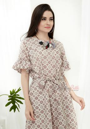 CA.2200 TRACY BATIK LOOSE DRESS