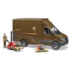 Bruder Toys 2538 - MB Sprinter UPS with driver and accessories