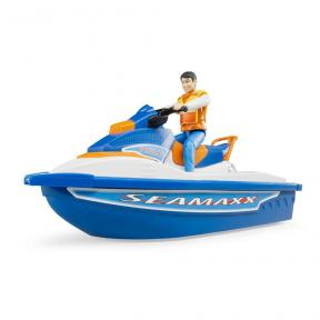 Bruder 63150 - Personal water craft with driver
