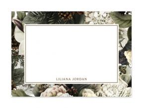 'Winter Flowers' (Note Cards Set of 6)