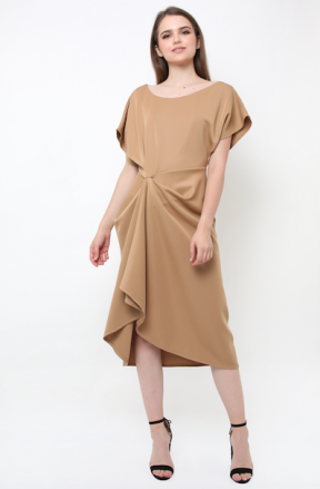 Evannie Dress in choco
