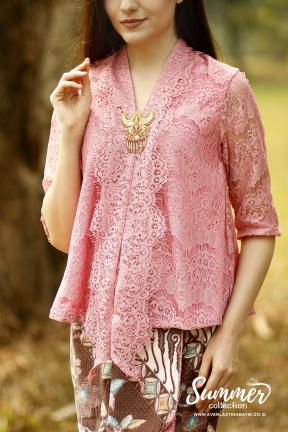 CA.1050 DUSTYPINK KARTIKA LACE TOP