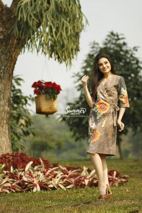 CA.2242 RENIA FLOWERY BATIK TULIS DRESS - PO30DAYS