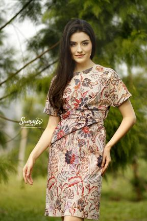 CA.2245 MAZAYA SOLO BATIK DRESS