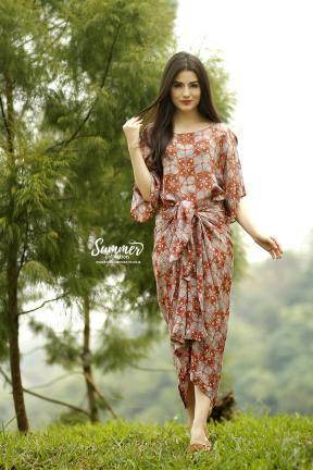 CA.2246 TALISA BATIK PARIS DRESS